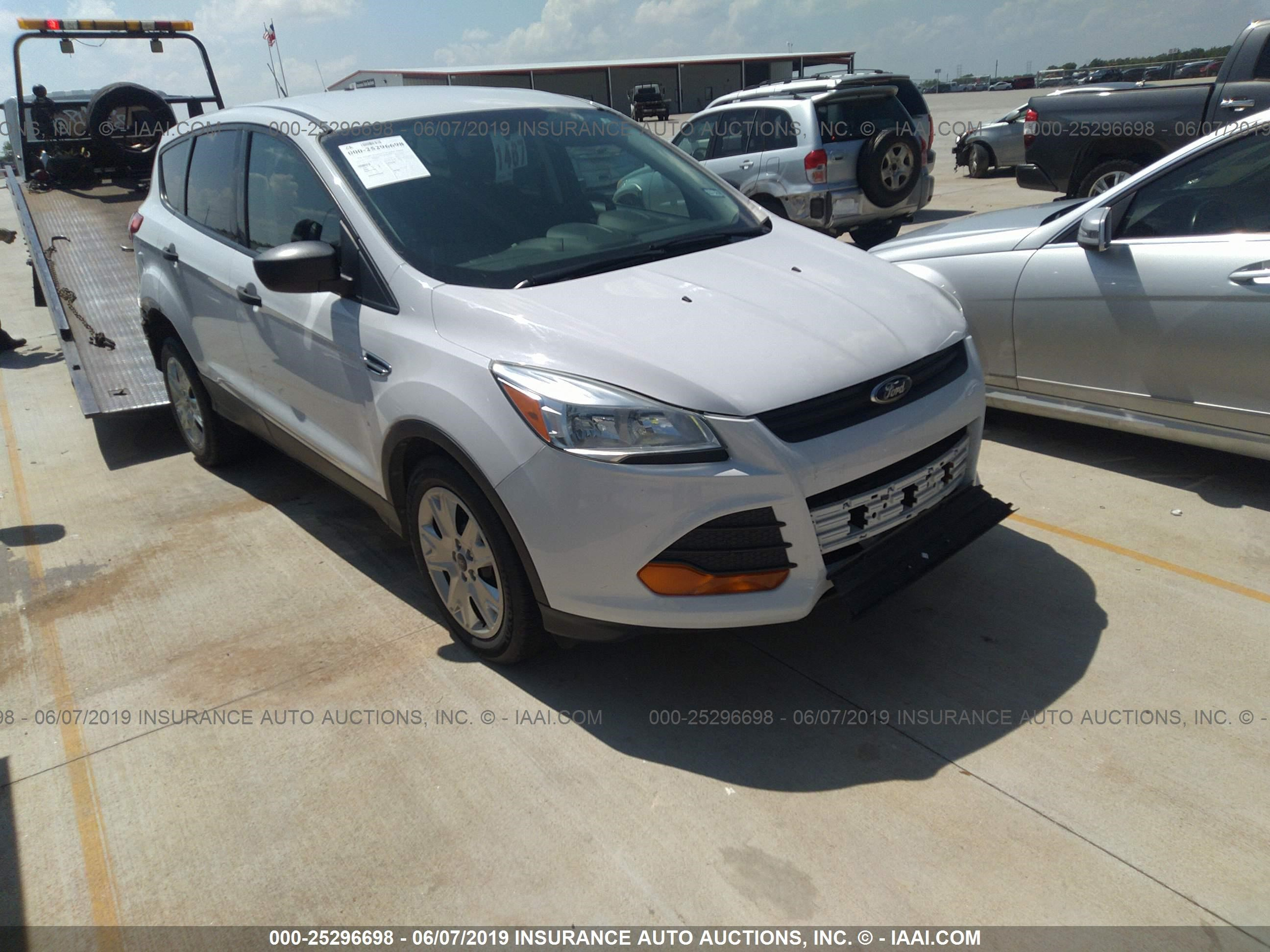 Car Auctions In Nc >> Ford Escape 2014 1fmcu0f74eud45761 Auto Auction Spot