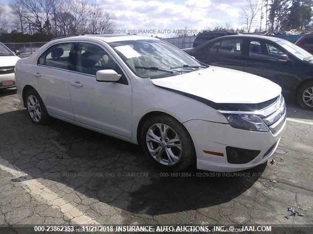 Fusion Auto Auction >> 2012 Ford Fusion Se Auction Cardeal Auto Auction