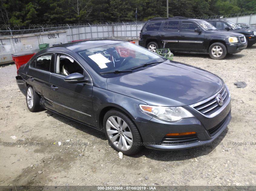 2012 VOLKSWAGEN CC SPORT/R-LINE Auction | CARDEAL - Auto Auction