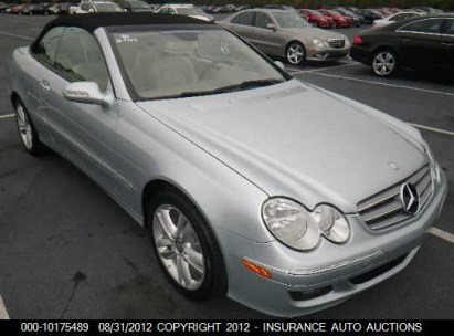 2008 MERCEDES-BENZ CLK 350