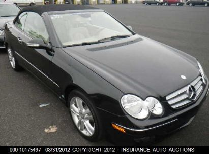 2009 MERCEDES-BENZ CLK 350