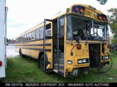2000 BLUE BIRD BLUE BIRD SCHOOL/TRANSIT BUS