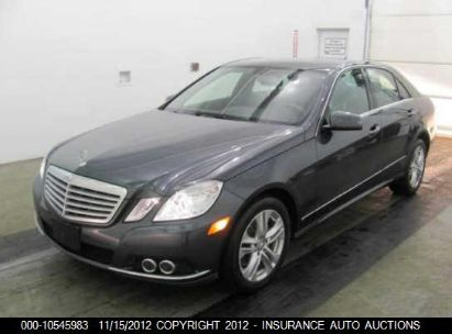 2011 MERCEDES-BENZ E350 4M AWD