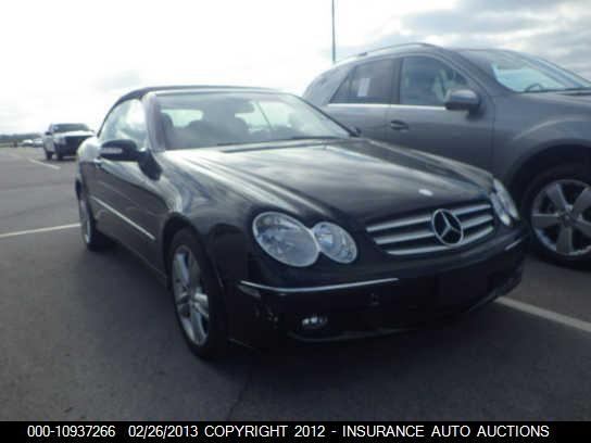 2009 Mercedes-benz CLK, 10937266 | IAA-Insurance Auto Auctions