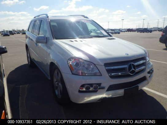 2010 Mercedes-Benz GL450, 10937351 | IAA-Insurance Auto Auctions