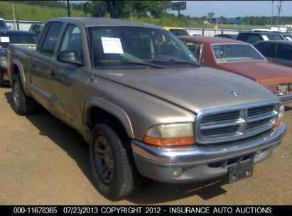 2003 DODGE DAKOTA QUAD CAB SLT