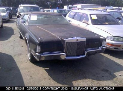 Used Lincoln Mark Iv For Sale Salvage Auction Online Iaa