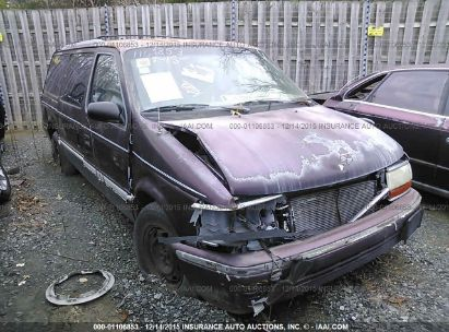 1993 PLYMOUTH VOYAGER GRAND VOYAGER SE