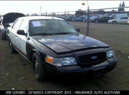 2007 FORD CROWN VICTORIA POLICE INTERCEPTOR