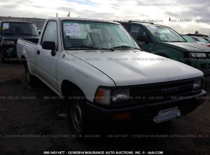 1991 TOYOTA HALFTON PICKUP SHORT BED STD