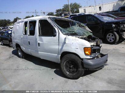 2005 FORD ECONOLINE E150 VAN