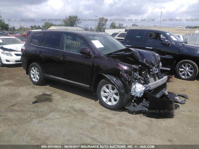 2013 TOYOTA HIGHLANDER, 20519835 | IAA-Insurance Auto Auctions