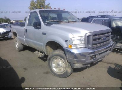 2002 FORD SUPER DUTY F-350 SRW SRW SUPER DUTY