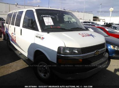 2015 CHEVROLET EXPRESS G2500 LT