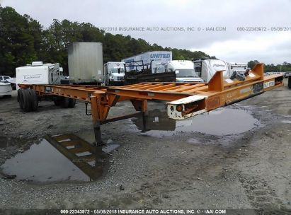 2001 HYUNDAI STEEL INDUSTRIES CONTAINER CHASSIS