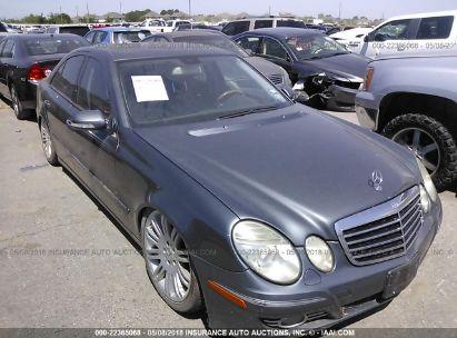 2007 MERCEDES-BENZ E 550