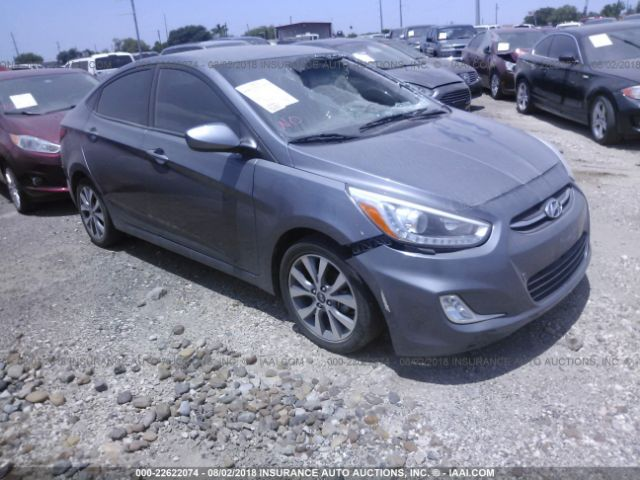 2016 Hyundai Accent 22622074 Iaa Insurance Auto Auctions