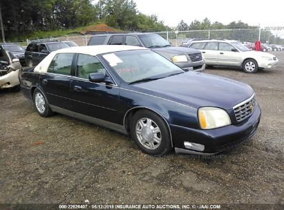 2003 cadillac deville dhs for auction iaa iaa