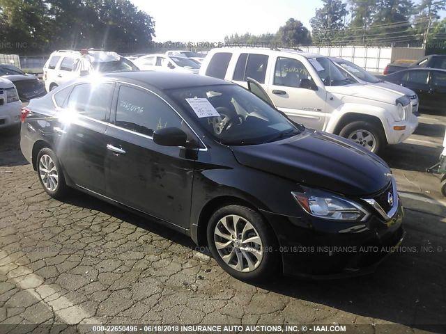 2018 NISSAN SENTRA, 22650496 | IAA-Insurance Auto Auctions