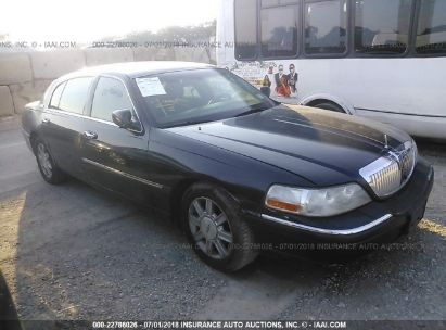 2007 LINCOLN TOWN CAR EXECUTIVE L