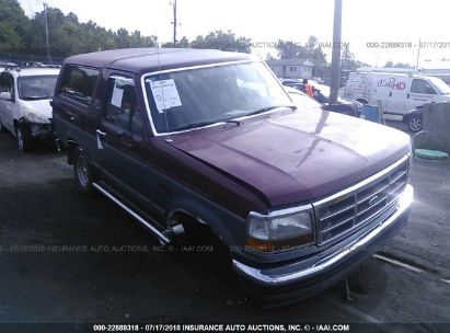 1993 FORD BRONCO U100