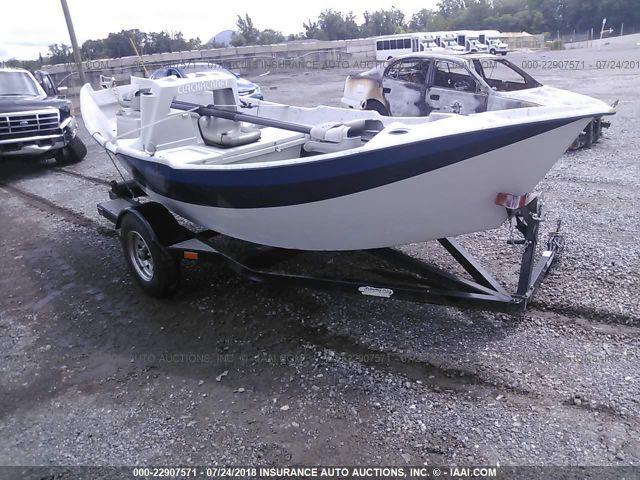 2011 Drifter Clackacraft Boat 22907571 Iaa Insurance Auto Auctions