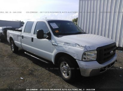 2006 FORD SUPER DUTY F-350 SRW XL/XLT/LARIAT/KING RANCH