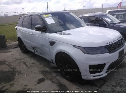 2018 LAND ROVER RANGE ROVER SPORT SUPERCHARGED/DYNAMIC