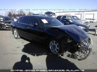 2009 LINCOLN TOWN CAR EXECUTIVE L