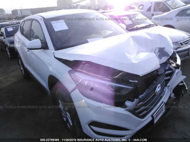 2018 Hyundai Tucson 23799399 Iaa Insurance Auto Auctions