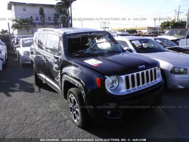2018 JEEP RENEGADE, 23930836 | IAA-Insurance Auto Auctions