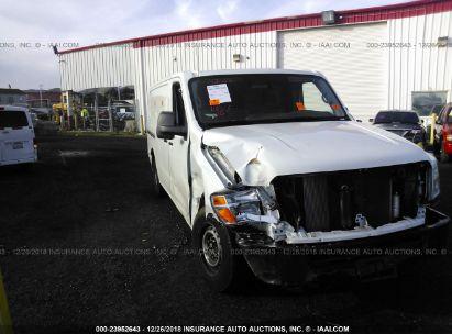 2017 NISSAN NV CARGO 1500 S/SV/2500 S/SV/SL