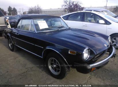 1978 FIAT SPIDER 124