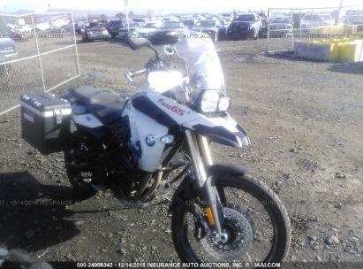 2010 BMW F800 GS