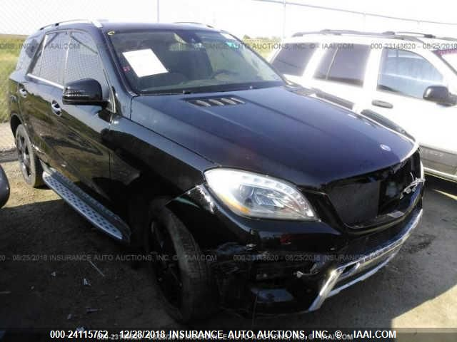 2014 MERCEDES-BENZ ML, 24115762 | IAA-Insurance Auto Auctions