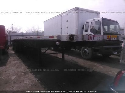 2016 UTILITY TRAILER MFG FLATBED