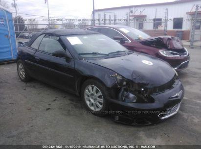 2002 CHRYSLER SEBRING GTC