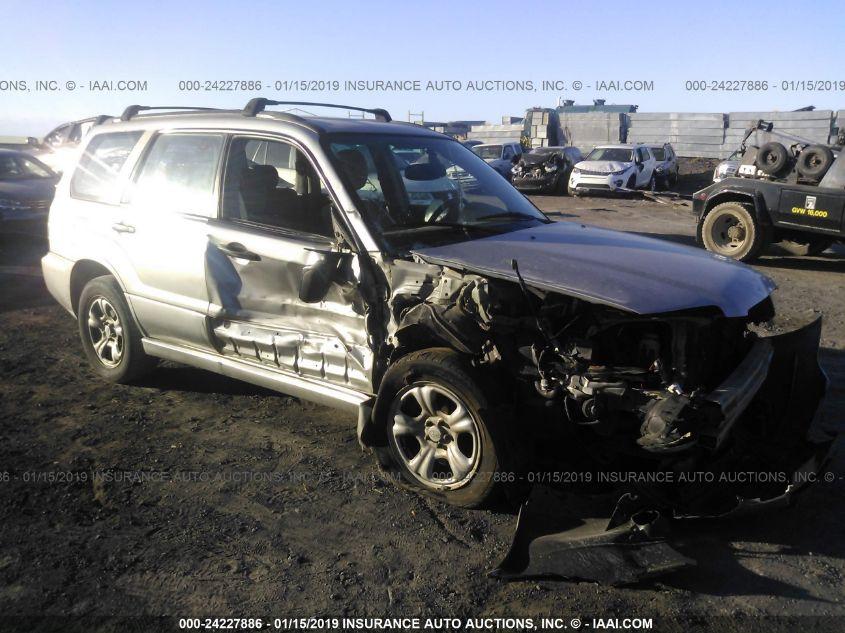 2006 SUBARU FORESTER, 24227886 | IAA-Insurance Auto Auctions