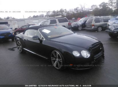 2013 BENTLEY CONTINENTAL GT V8 GTC V8