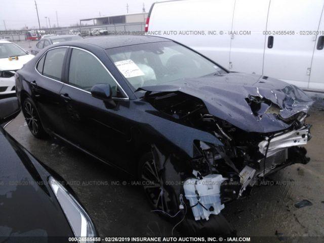 Iaai Houston North >> 2018 Toyota Camry 24585458 Iaa Insurance Auto Auctions