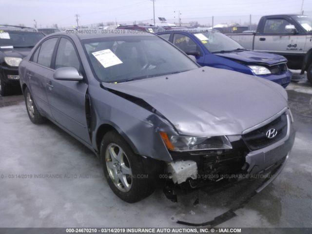 2006 Hyundai Sonata 24670210 Iaa Insurance Auto Auctions