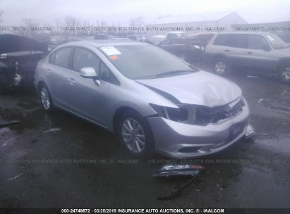 2012 HONDA CIVIC EXL