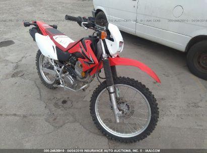 2008 HONDA CRF230 L