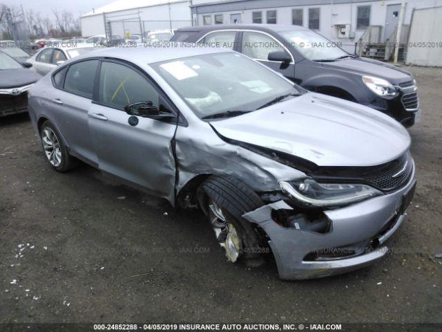 2015 CHRYSLER 200, 24852288 | IAA-Insurance Auto Auctions