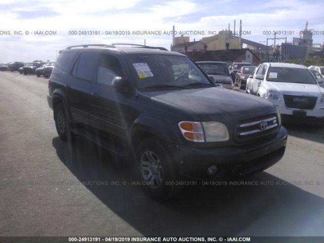 2004 TOYOTA SEQUOIA, 24913191 | IAA-Insurance Auto Auctions