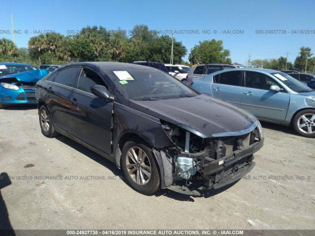 2013 HYUNDAI SONATA, 24927738   IAA-Insurance Auto Auctions