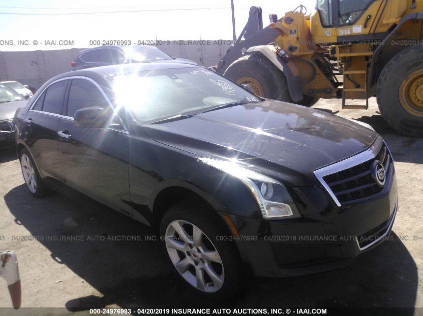 Car Auctions In Nc >> 2013 Cadillac Ats 24976993 Iaa Insurance Auto Auctions
