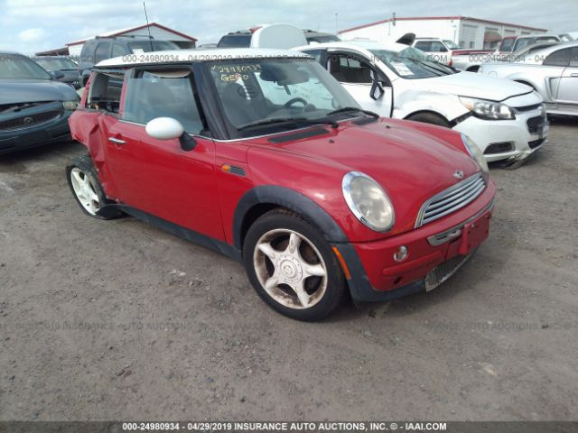 2003 MINI COOPER, 24980934 | IAA-Insurance Auto Auctions