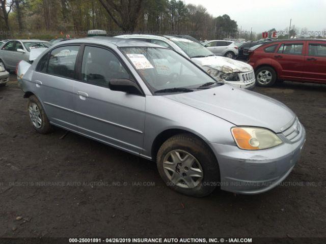 2003 HONDA CIVIC, 25001891 | IAA-Insurance Auto Auctions