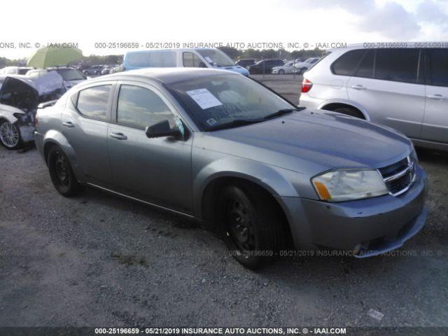 2009 DODGE AVENGER, 25196659 | IAA-Insurance Auto Auctions